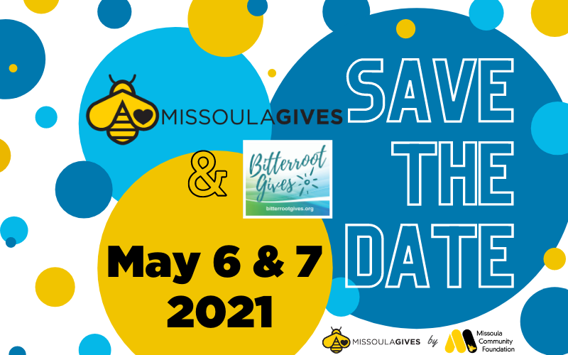 Missoula Gives 2021 Save-the-Date