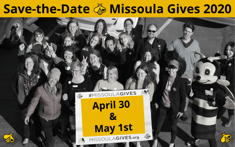 Save-the-Date Missoula Gives 2020