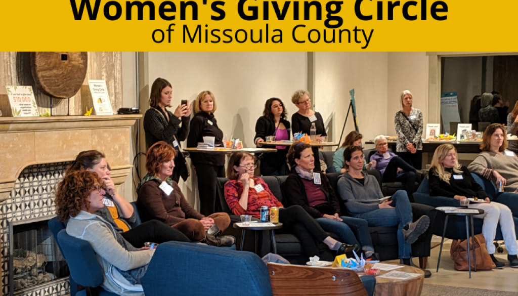 Women's Giving Circle of Missoula County